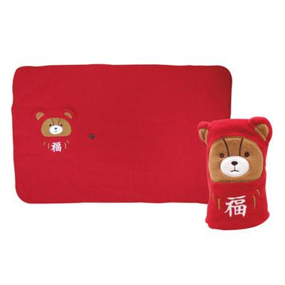 【British Bear英國熊】授權英國熊福氣招財紅毯60*90cm 破盤熱銷 (5.5折)