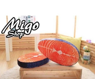 (全民亂買)超擬真鮭魚坐墊/靠墊(限量) (4.3折)