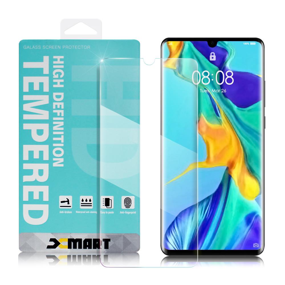 xmart for 華為 huawei p30 薄型 9h 玻璃保護貼-非滿版