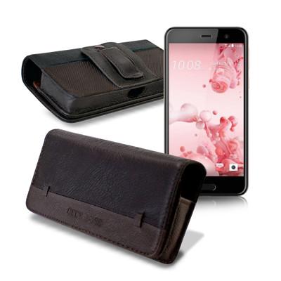 City boss HTC One  / 榮耀4X 品味柔紋橫式腰掛皮套 (4.2折)