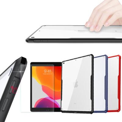 XUNDD for iPad 10.2吋 2019 安全防摔保護殼+鋼化9H玻璃 組 (8.1折)
