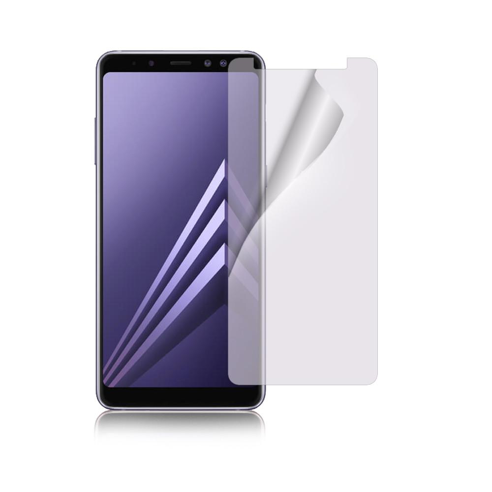魔力 samsung galaxy a8 plus 2018版 高透光抗刮螢幕保護貼-非滿版