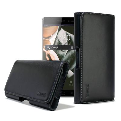 XM ZenFone 2 Laser /Zenfone 2 5.5吋 型男羊皮橫式腰掛皮套 (4.6折)