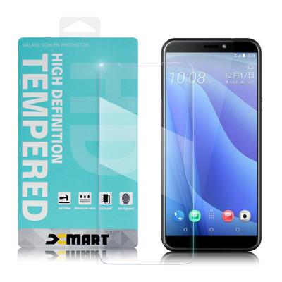 Xmart for HTC Desire 12s 薄型 9H 玻璃保護貼-