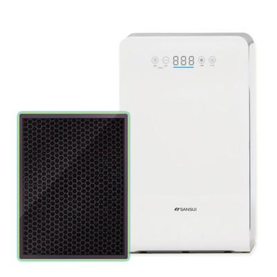 山水SANSUl 空氣清淨機 四重過濾/銀離子/HEPA/活性碳/負離子-濾網-SAP-2258專用 (8.3折)