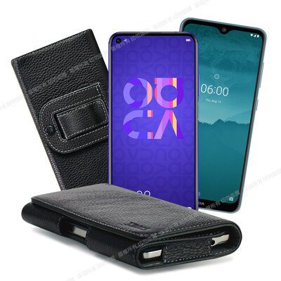 Xmart for HUAWEI Nova 5T /Nokia 7.2 麗緻真皮腰掛皮套 (6.3折)