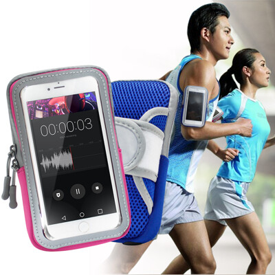 AISURE for 華為 Nova 5T/小米 9T/Reno 2 透氣手機觸控運動臂套臂袋 (5.4折)