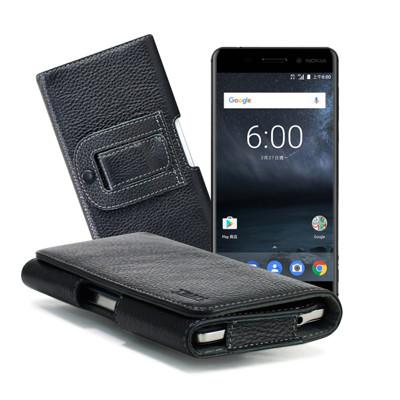 X mart ASUS ZenFone 3 ZE520KL 5.2吋 麗緻真皮腰掛皮套 (5.4折)