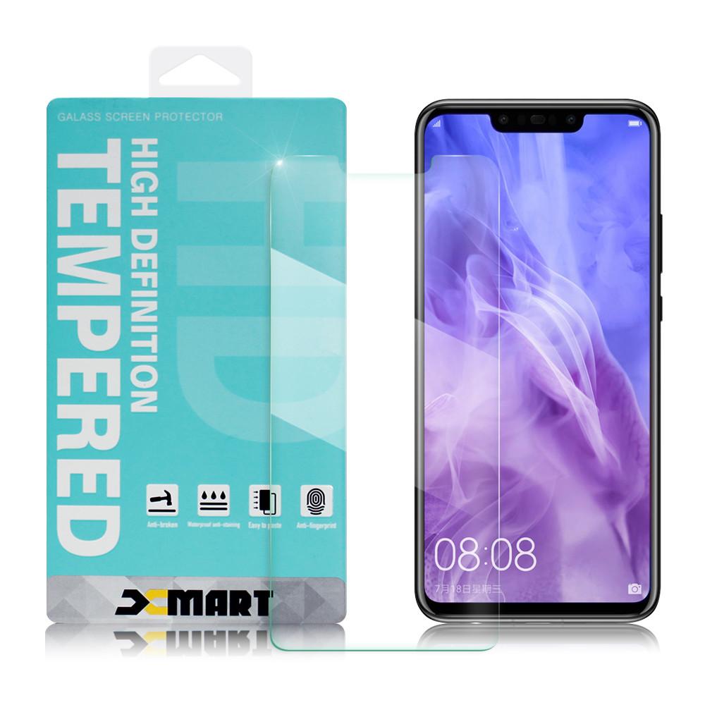 xmart for 華為 huawei nova 3i 6.3吋 薄型 9h 玻璃保護貼-非滿版