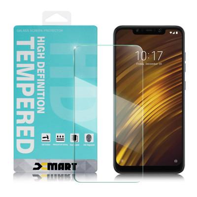 Xmart For 小米 Pocophone F1 薄型 9H 玻璃保護貼-