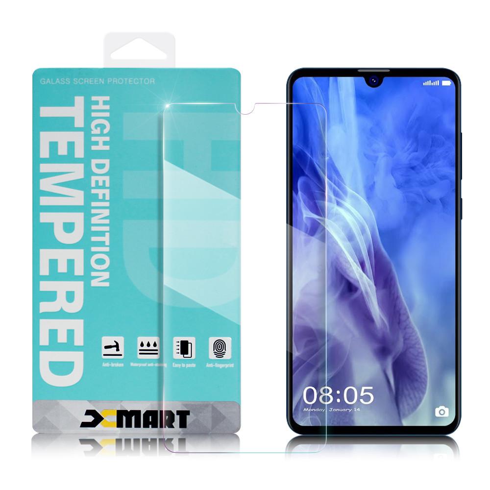 xmart for 華為 huawei nova 4e 薄型 9h 玻璃保護貼-非滿版