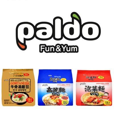 韓國進口泡麵 Paldo八道泡麵系列(牛骨湯麵/泡菜麵/海鮮麵)***單包最低價24元*** (6.9折)