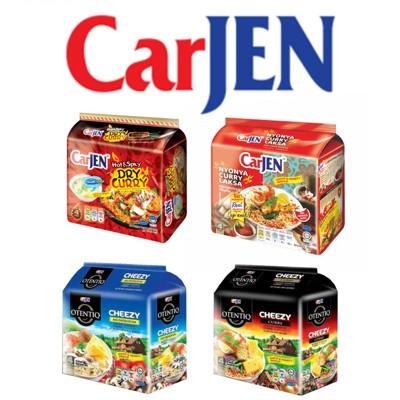 單包最低31元 CarJen泡麵系列( 火辣蔥燒鐵板炒麵/娘惹白咖哩麵/芝士咖哩麵/芝士蘑菇麵) (6.3折)