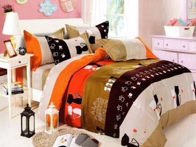 MIT100%純棉夢幻童話床罩組-標準雙人 (5折)