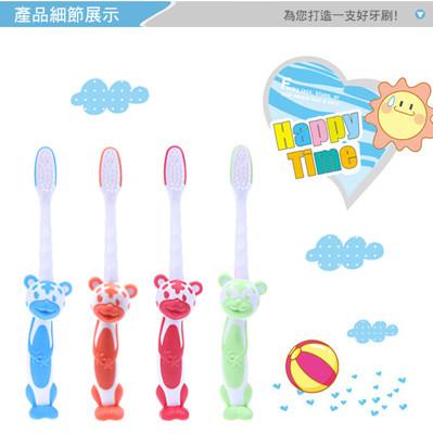 韓國超柔護舌舌苔清潔棒+可愛虎超軟毛兒童牙刷 (0.8折)