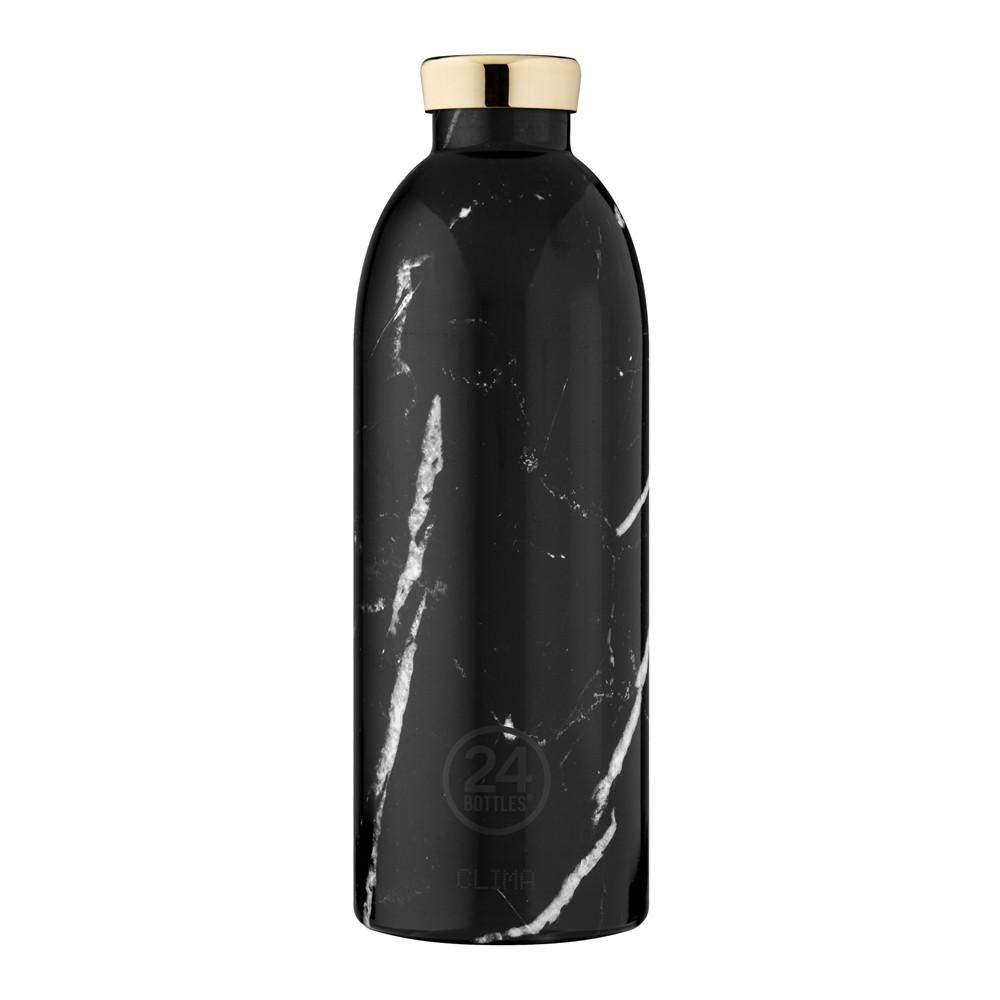 小宅私物義大利 24bottles 不鏽鋼雙層保溫瓶 850ml (黑雲石) 不鏽鋼水瓶 環保水