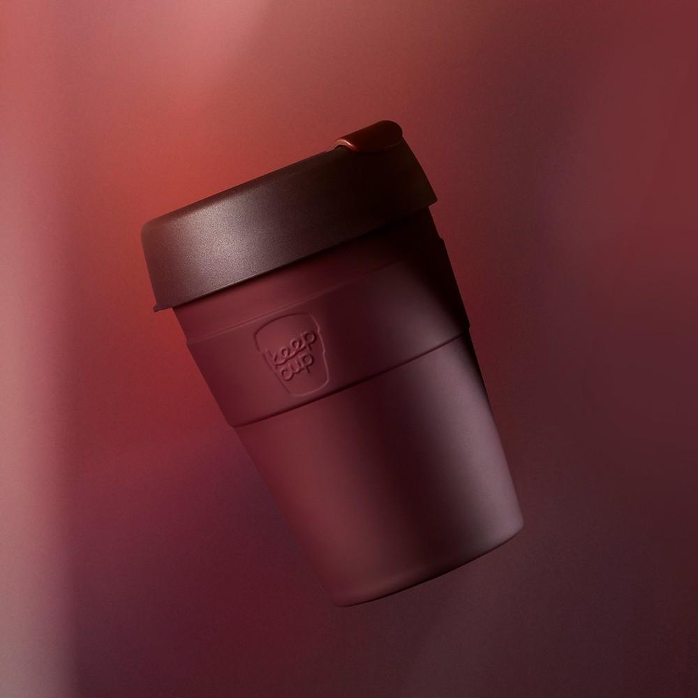 小宅私物澳洲 keepcup 雙層真空不鏽鋼隨身杯 m (甜酒紅)  咖啡杯 隨行杯 環保杯 不