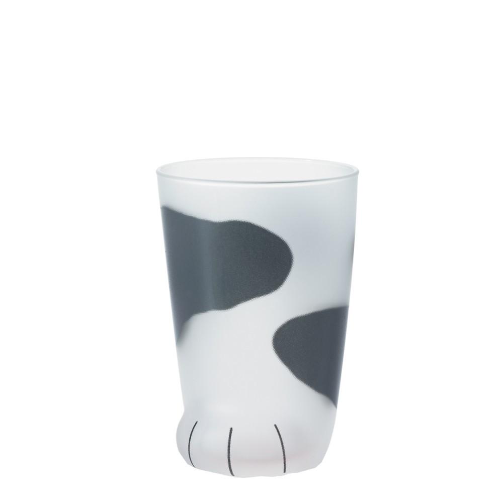 小宅私物日本 aderia 貓腳杯 (乳牛) 300ml 盒裝 水杯 飲料杯 玻璃杯 原廠正貨