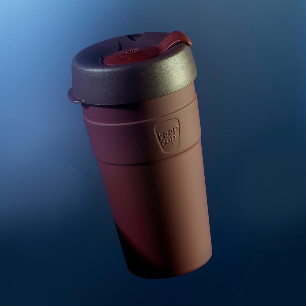 小宅私物澳洲 keepcup 雙層真空不鏽鋼隨身杯 l (甜酒紅)  咖啡杯 隨行杯 環保杯