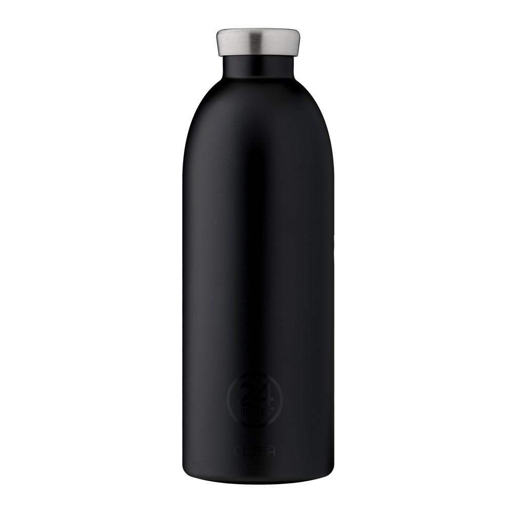 小宅私物義大利 24bottles 不鏽鋼雙層保溫瓶 850ml (紳士黑) 不鏽鋼水瓶 環保水