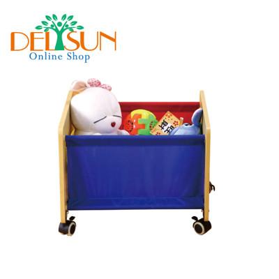 ☆ DELSUN ☆ [DELSUN #5932] 移動式收納箱 繽紛彩虹 (8.8折)