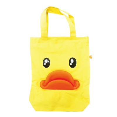 黃色小鴨帆布肩背包 (3折)