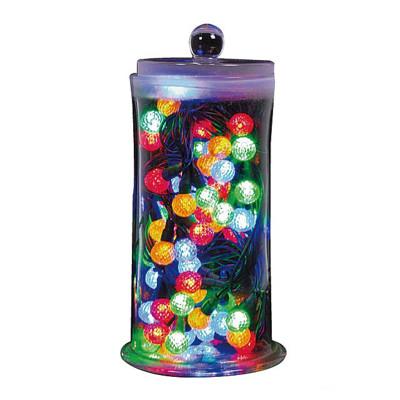 聖誕燈裝飾燈LED(80燈)珍珠燈造型燈(彩色光)(插電式/附控制器跳機) (2.8折)