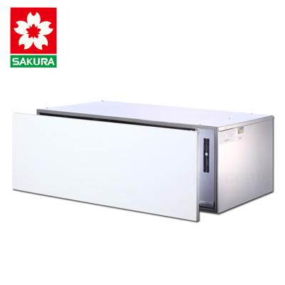 櫻花牌 Q-7598A 崁門板橫抽式三段時間設定90cm烘碗機 (7.3折)