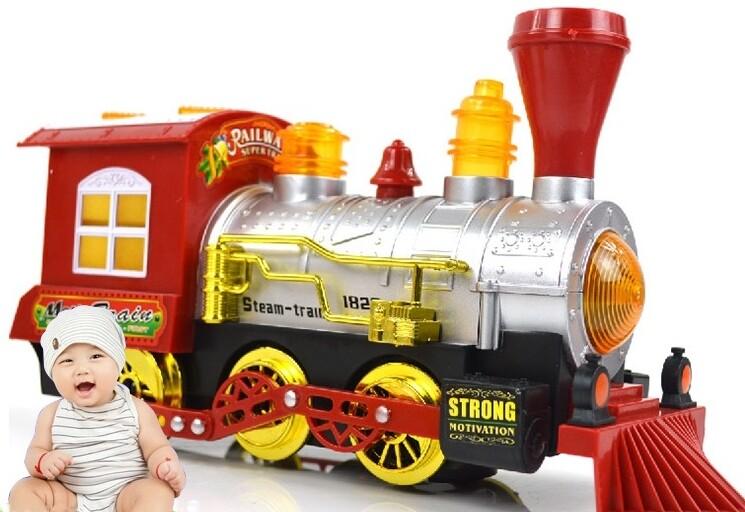 電動泡泡燈光音樂玩具車