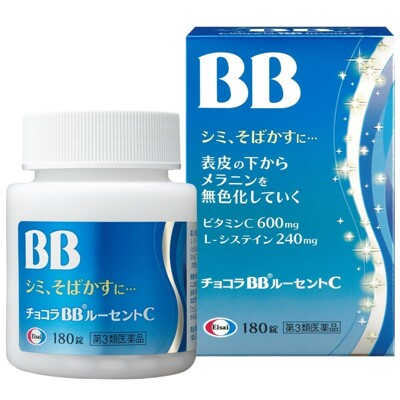 藍BB 180錠/瓶 日本 chocola BB lucent C (7.6折)