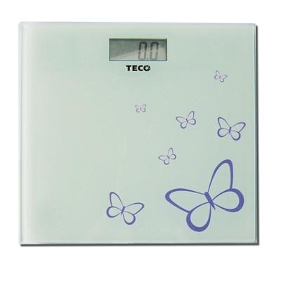 TECO 東元電子體重計(XYFWT381)/強化玻璃/電子秤/人體秤 (4.2折)