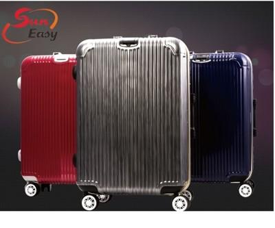 SunEasy頂級旗艦鋁框硬殼行李箱25吋 (4.4折)