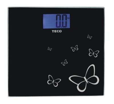 TECO 東元藍光時尚體重計(XYFWT486)/強化玻璃/電子秤/人體秤 (4.2折)