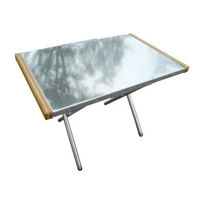 【Outdoorbase】小金鋼-不鏽鋼折合桌-25513 (8折)