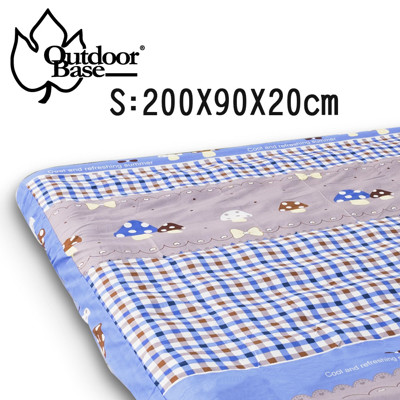 Outdoorbase 舒柔布保潔床包套(S)-歡樂時光 充氣床墊 露營 居家 OB26275 (7.9折)