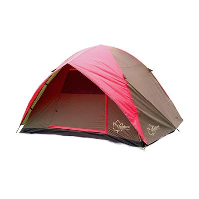 【Outdoorbase】蝶舞六人雙門透風帳篷 雙門帳篷 270x270cm (7.1折)