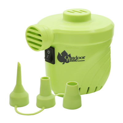 【OutdoorBase】颶風充氣馬達 PSI出氣量UP。充氣床馬達。可充氣及洩 (8折)