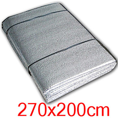 【Outdoorbase】鋁箔墊 充氣床地墊 帳篷內地墊 270x200cm (8折)