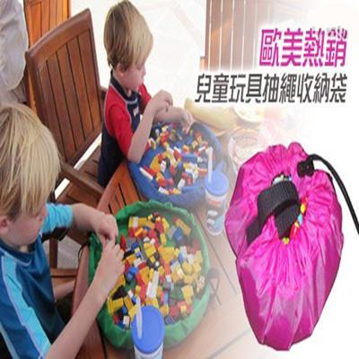 【JAR嚴選】兒童玩具抽繩收納袋(小號) (1.9折)