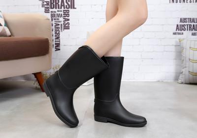【JAR嚴選】新款 防水防滑高質感中長筒雨靴-A款 (2.5折)