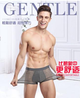 [JAR嚴選] 男士質感纖維透氣四角褲 (4折)
