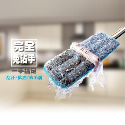 Lazyworker-免手洗自濾平板拖+替換拖布組合價 (4.7折)