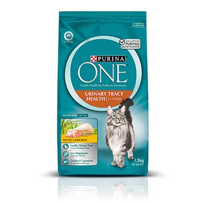 普瑞納-ONE CAT 頂級貓乾糧【成貓泌尿保健雞肉配方】1.5kg (7.9折)