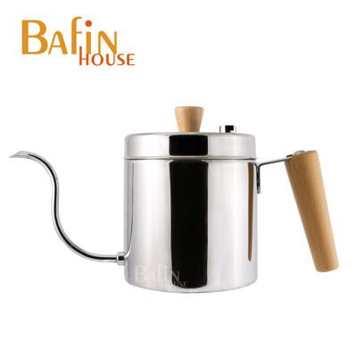 【Bafin House】天鵝 棉花罐 不鏽鋼手沖壺(600ml) (8.8折)