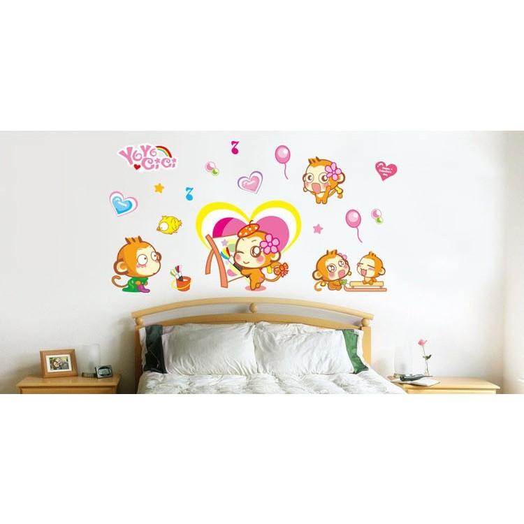 創意壁貼--悠嘻猴 ay921-963af01013-963