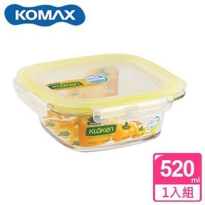 韓國 KOMAX 輕透Tritan方形保鮮盒520ml 72522【AE02281】 (5.7折)
