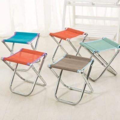 攜帶式小折疊椅折疊凳 釣魚烤肉露營方便攜帶 (顏色隨機)【AE07048】 i-Style