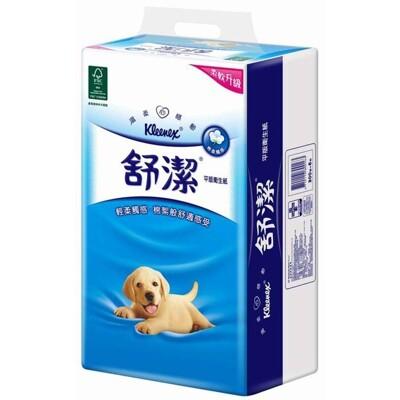舒潔 棉柔平版衛生紙300張(6包x8串/箱) (9.2折)