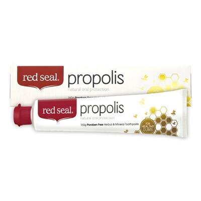 [紐西蘭原裝進口] red seal紅印 天然蜂膠牙膏 100g (8.8折)