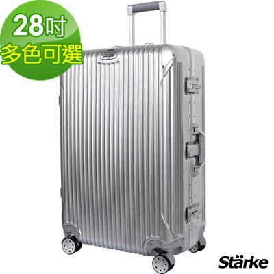 starke德國設計28吋PC+ABS鏡面鋁框硬殼行李箱B系列【008003】 (5折)